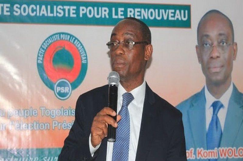 """Togo/Elections présidentielles 2020: Zoom sur le Pr. Wolou Komi qui veut """"rebâtir l'espoir"""" au Togo."""