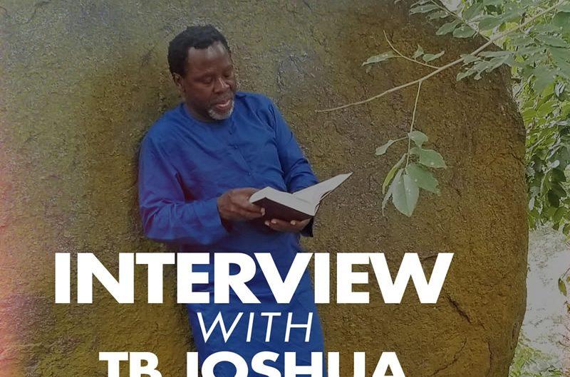 """Interview révélatrice du Prophète TB Joshua publiée au journal """"This Day"""""""