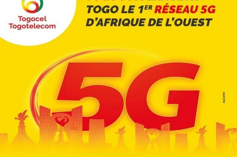 Togo: Togocom lance le premier réseau 5G de l'Afrique de l'Ouest.