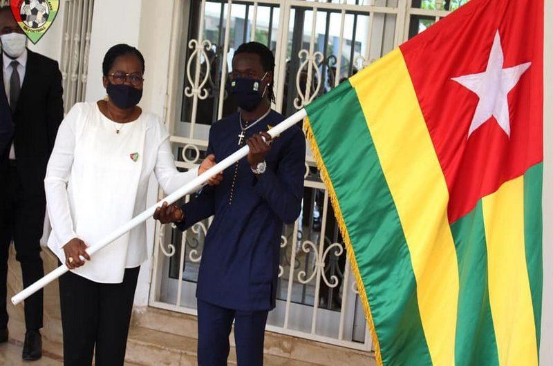 Togo/CHAN Cameroun 2020: les Eperviers locaux ont  reçu le drapeau pour la compétition.