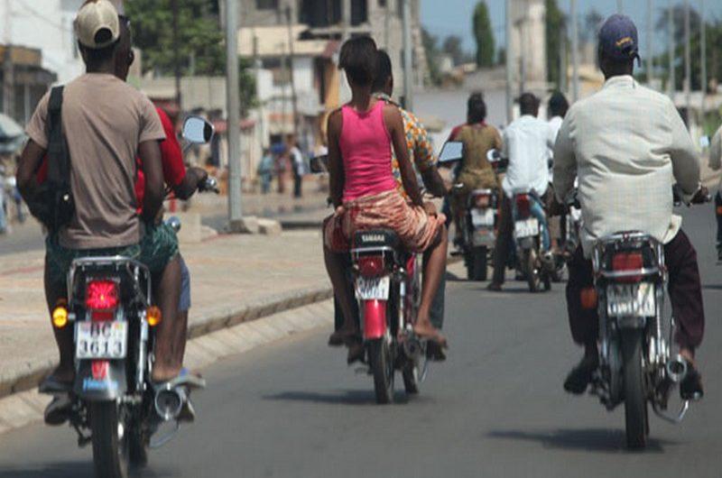"""Togo: l'obligation d'avoir le permis type """"A"""" de nouveau évoquée."""