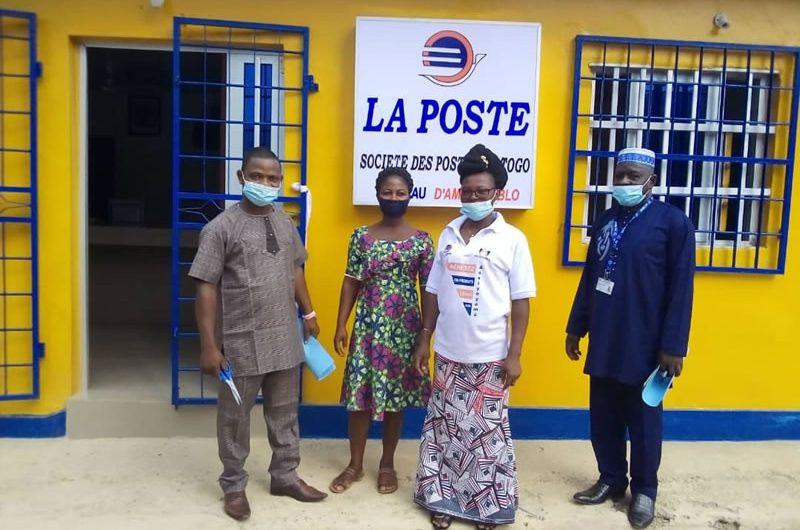 Un nouveau bureau de poste installé à Amou Oblo