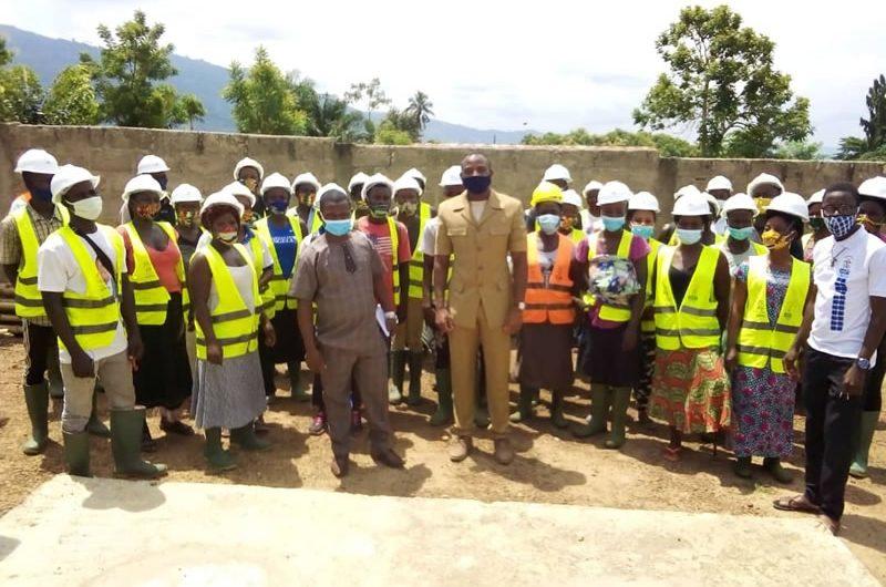 Journée de l'arbre au Togo: Méyébine-Esso Gnassingbé a fait sa part