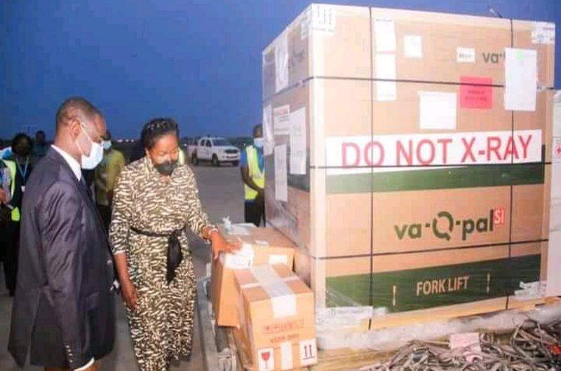 Le Togo reçoit les premières doses du vaccin Johnson & Johnson.