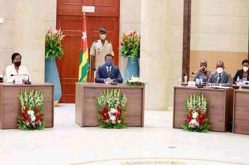 Togo: les grandes décisions du conseil des ministres du 22 septembre 2021.