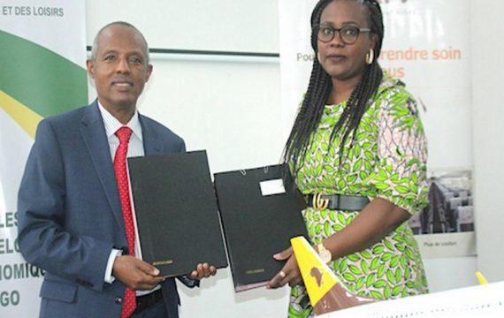 Togo: le ministère des sports et la compagnie Asky liés par un accord commercial.