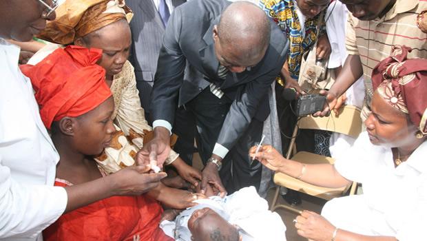 La première phase de vaccination contre la Poliomyélite est entamée