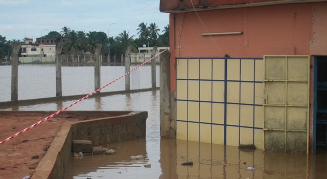 inondation au Togo