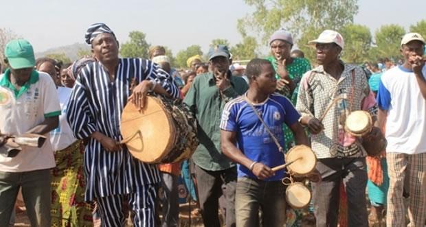 Les natifs du canton de Kamboli ont célébré leur fête traditionnelle