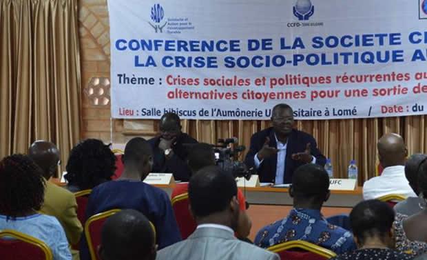 Togo : Réformes constitutionnelles, la Société Civile lance son projet plaidoyer