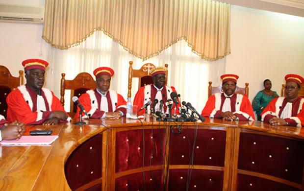 Togo : La cour constitutionnelle donne les résultats définitifs