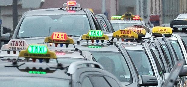 taxi en greve