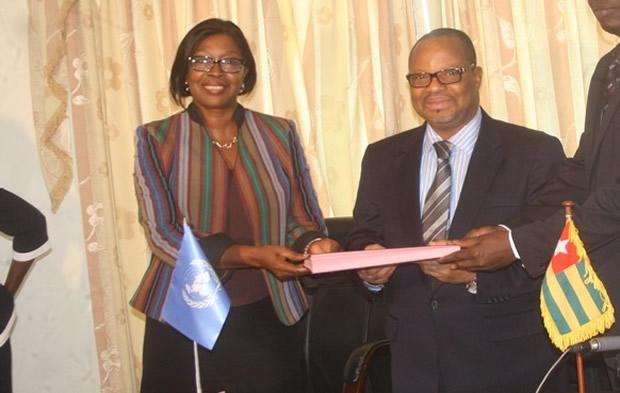 Le PNUD vient d'offrir plus de 100 millions de francs CFA au Togo
