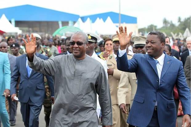 Togo: Inauguration du poste juxtaposé de Noépé frontière Ghana