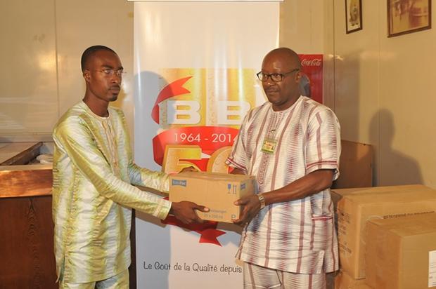 La Brasserie BB Lome fait don de matériels médicaux de plus de 2 millions de Francs