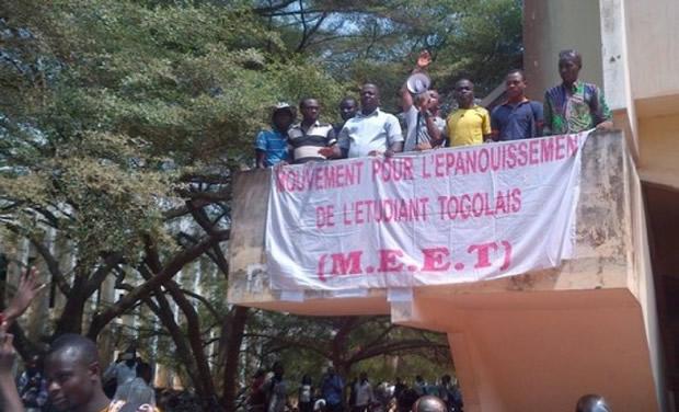 Mouvement pour l'Epanouissement de l'Etudiant Togolais (MEET) se mobilise