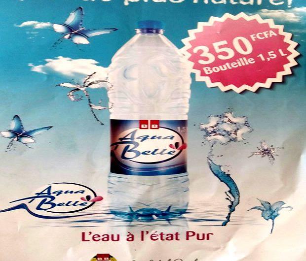 La Brasserie BB Lomé sort un nouveau produit : Aqua Belle !