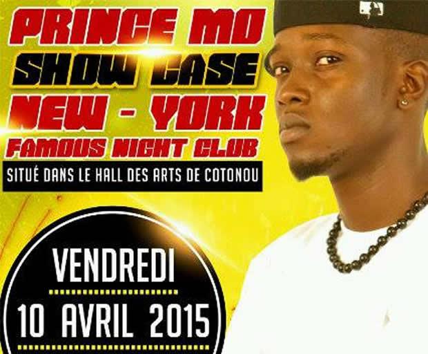 Prince Mo sera en tournée musicale au Bénin