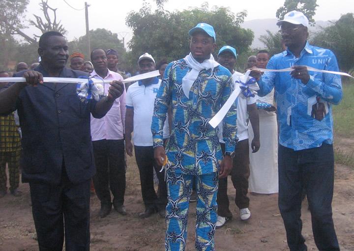 Cadeau de campagne à Amou-Oblo : Mey Gnassingbé offre l'électricité au Lycée