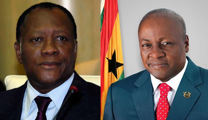 Visite-éclair de Mahama et Ouattara à Lomé ce mardi