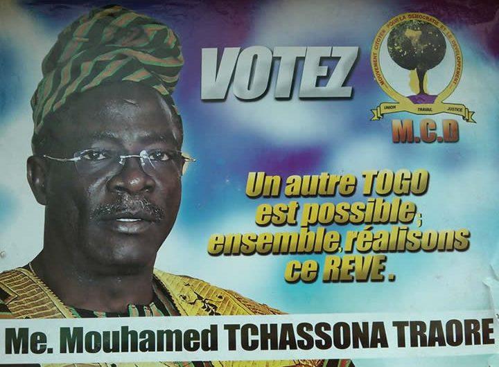 Tchassona Traoré, un candidat confiant