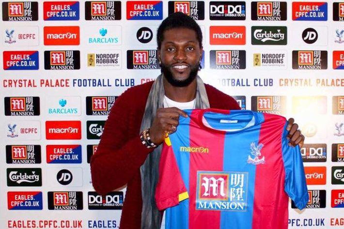 Emmanuel Adebayor s'engage avec Crystal Palace pour 400.000 Euro par mois