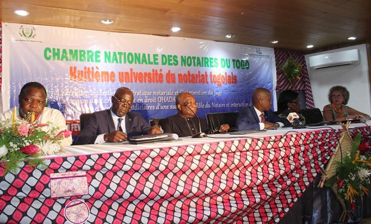 Togo : Les Notaires retournent à l'Université