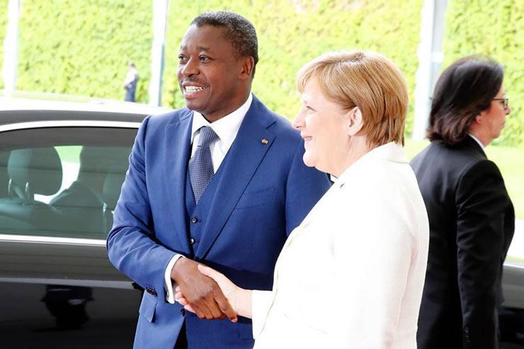 Angela Merkel : «Le Togo est sur la voie du progrès»