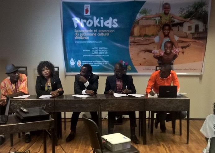 PROKIDS : Revitaliser le patrimoine culturel d'enfance au Togo