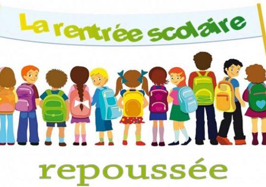 La rentrée scolaire est reportée au 02 octobre au Togo