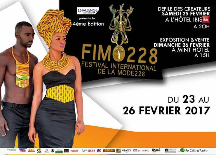 FIMO 228 au Togo : Ça va défiler à Lomé du 23 au 26 février 2017