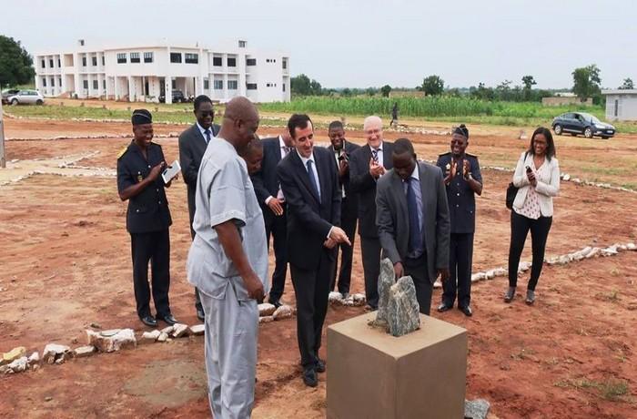 Togo: L'UE finance la construction d'une nouvelle école de police à Davié