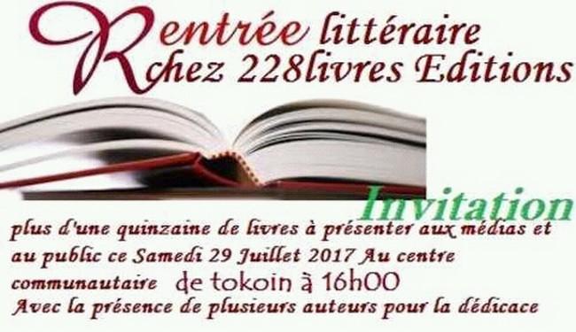 Togo : 228 Livres fait sa rentrée littéraire ce samedi