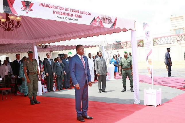 Togo / Kara : Bienvenue à l'inauguration de la cimenterie d'Awandjelo !