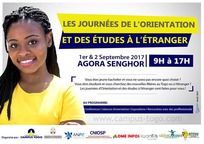 Campus Togo organise deux journées pour bien choisir sa formation Post BAC