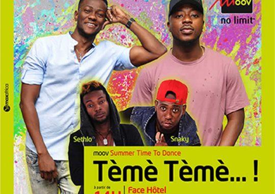 Moov Summer / Time to Dance 2017, le show des vacances au Togo