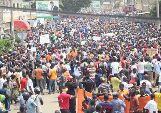 Manifestation de l'opposition au Togo / Internet, réseaux sociaux coupés
