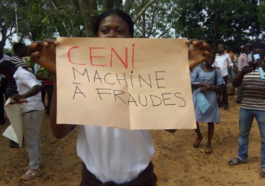 Togo : Manifestation spontanée ce matin au siège de la CENI