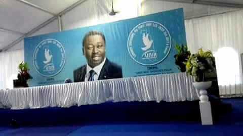 Le parti Union pour la République (UNIR) tient son Congrès statutaire à Tsévié