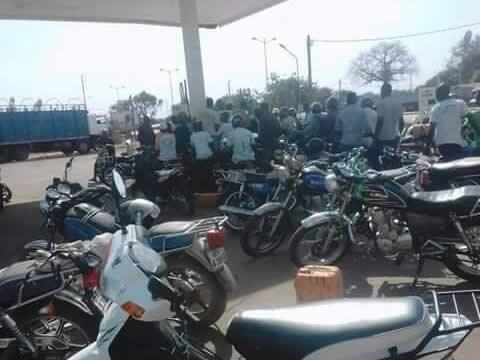 Nord-Togo : Le litre d'essence est monté à 1200 F