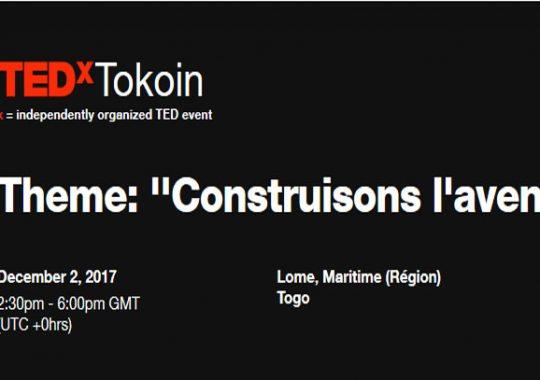 Le géant rendez-vous TEDx met le cap sur le Togo