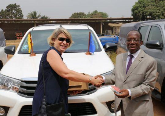 L'UE contribue à la mobilité du PEAT-2 au Togo