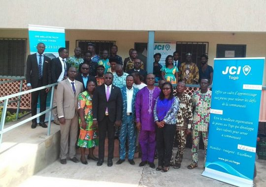 Togo : La JCI souhaite faire d'Atakpamé une ville  durable
