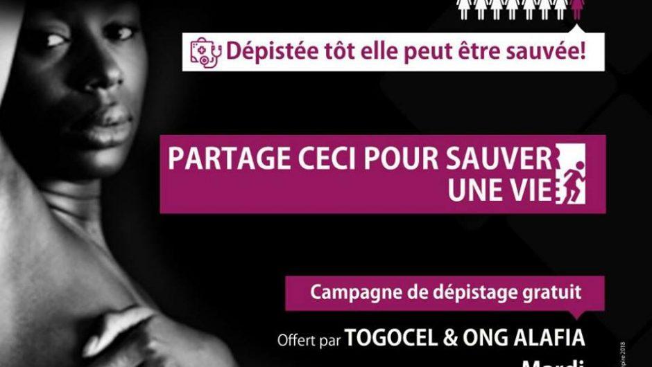 Togo : L'ONG ALAFIA pour unité d'action contre le cancer de sein