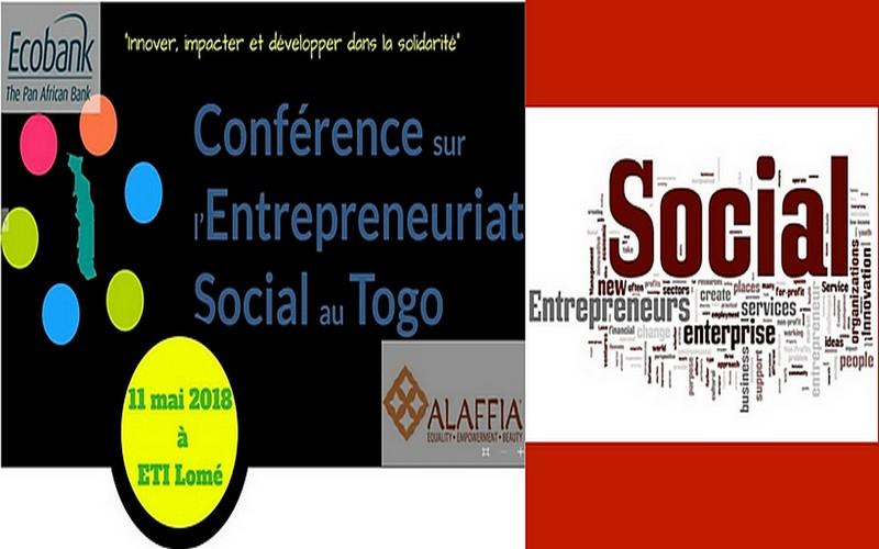 Une conférence sur l'entrepreneuriat social prévue pour le 11 Mai à Lomé