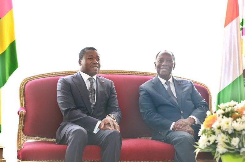 Faure Gnassingbé s'est rendu en Côte d'Ivoire