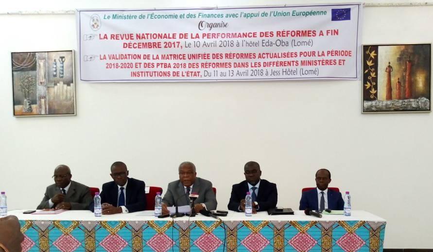 Togo : Révision de la  performance des réformes de l'année 2017
