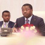 Le président Faure Gnassingbé en visite au Ghana.