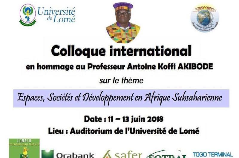Les thématiques « Espace, Société et Développement en Afrique Subsaharienne » au cœur d'un colloque