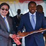 L'ambassadeur de Chine au Togo, Liu Yuxi, en fin de mission